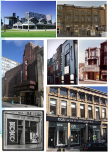Some of the Scaledonia venues