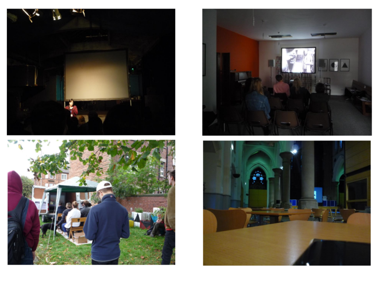Some of the Southside Film Festival venues